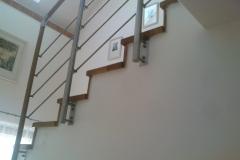Dřevěné schodiště   Truhlářství Jiří Brabec   Kladno a okolí